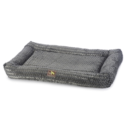 Swirl Blue Grey Cuddler Bed