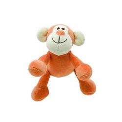 Simply Fido - Beginnings Oscar Orange Monkey w/ squeaker