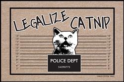 Legalize Catnip Mat