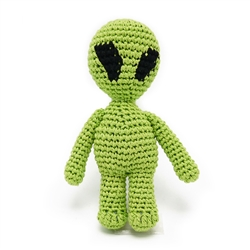 PAWer Squeaky Toy - Alien