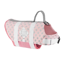 Doggy Life Jacket - Pink/Silver
