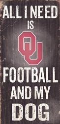 University of Oklahoma Football and My Dog Sign