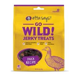 Etta Says Go Wild! Jerky Treats Duck Recipe