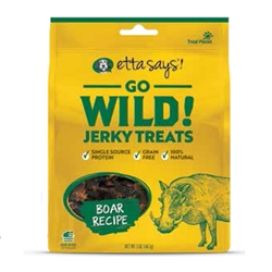 Boar Recipe Go Wild! Jerky Treats by Etta Says!