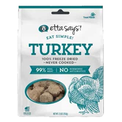 100% Freeze Dried Turkey by Etta Says Eat Simple!