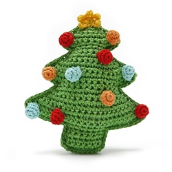 PAWer Squeaky Toy - Christmas Tree