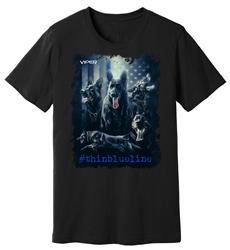 Viper - German Shepard - #thinblueline - Shirt - Design 1
