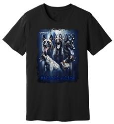 Viper - Belgian Malinois - #thinblueline - Shirt - Design 2