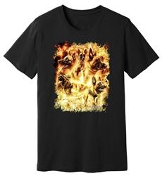 Viper - Belgian Malinois - Inferno - Shirt - Design 3