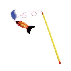 Turbo® Fishing Pole Wand Cat Toy