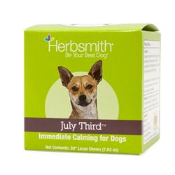 July Third - Immediate Calming Treats for Dogs