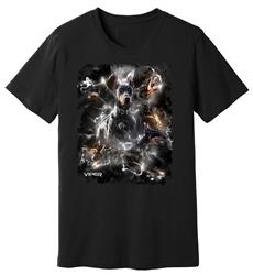 Viper - Doberman - Lightning - Shirt - Design 7