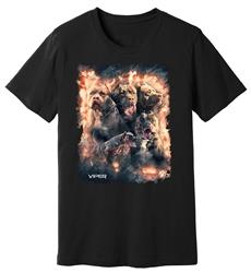 Viper - Pitbull - Inferno - Shirt - Design 8