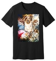 Viper - Australian Shepherd - Agility - Shirt - Design 11