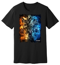 Viper - Dutch Shepherd - Day & Night - Shirt - Design 12