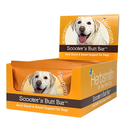 Scooter's Butt Bars - Anal Gland and Bowel Support for Dogs and Cats