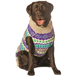 Purple Fairisle Sweater