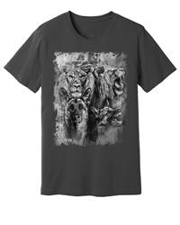 Viper - German Shepherd & Lion - Spirit Animals - Shirt - Design 13