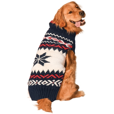 Navy Vail Sweater