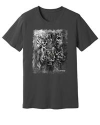 Viper - Dutch Shepherd & Tiger - Spirit Animals - Shirt - Design 15