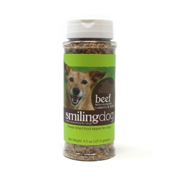 Smiling Dog Kibble Seasoning - Grain Free, Freeze Dried Topper