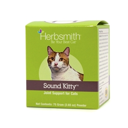 Sound Kitty - Glucosamine Supplement Providing Joint Support for Cats
