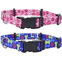 Patterned Hideaway™ Flea Collar Protectors