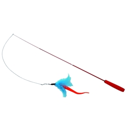 Turbo® Telescoping Teaser with Swizzle Tail™ Cat Toy