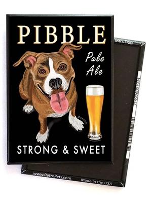 Pit Bull Terrier - Pibble Pale Ale MAGNETS