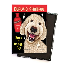 Labradoodle - Rock a Doodle 'Do! Cream Doodle - 4-pack MAGNETS