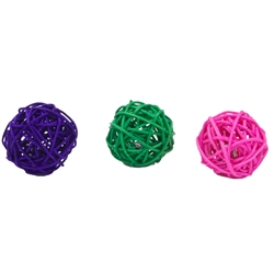 "1.75"" Wicker Balls (48 pcs) Turbo® Bulk Cat Toy Bins"