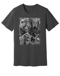 Viper - Rottweiler & Grizzly Bear - Spirit Animals - Shirt - Design 16