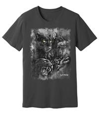 Viper - Doberman & Black Panther - Spirit Animals - Shirt - Design 19