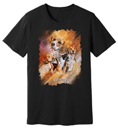 Viper - Beagle - Starlight Series - Black Shirt - Design 25