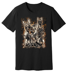 Viper - Belgian Malinois - Embers - Shirt - Design 23