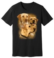 Viper - Yellow Labrador - Splatter - Shirt - Design 24