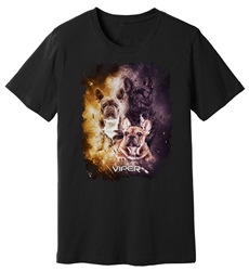 Viper - French Bulldog - Starlight Series - Black Shirt - Design 31
