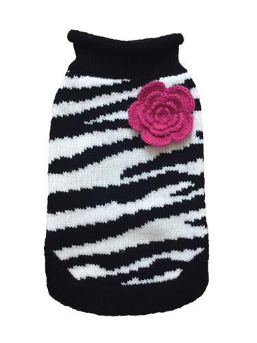 Zebra Fleur Rose