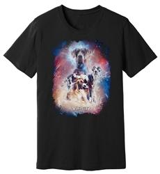 Viper - Great Dane - Starlight Series - Black Shirt - Design 34