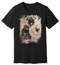 Viper - Pug - Starlight Series - Shirt - Design 36