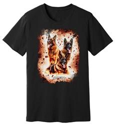 Viper - GSD - Embers - Shirt - Design 37