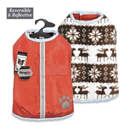 Zack & Zoey® Forest Friends Reversible Thermal Nor'Easter Coat