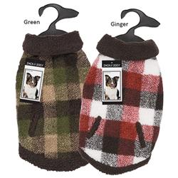 Zack & Zoey® Berber Plaid Vest
