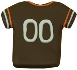 Browns Football Jersey Treats (2 cases of 12) - 2 Week Lead Time