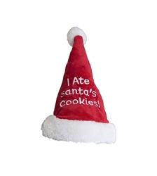 Outward Hound Christmas Holiday 'I Ate Santa's Cookies'  Santa Dog Hat- While Supplies Last
