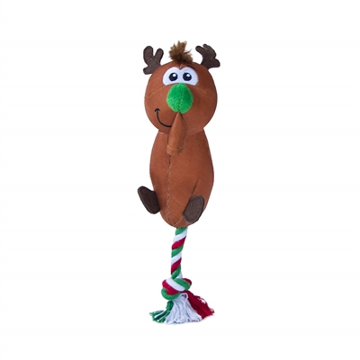 Outward Hound Reindeer Flingerz Launching Christmas Dog Toy- While Supplies Last