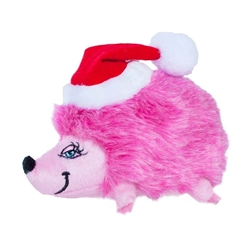 Outward Hound Holiday Hedgehog Dog Toy, Small, 3 Colors to Choose from- While Supplies Last