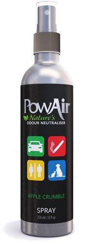 PowAir Spray Odor Neutralizer Apple Crumble 8 oz.