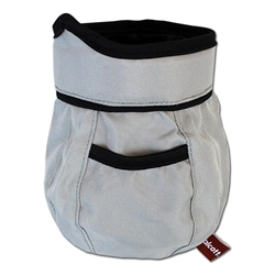 Treat + Ball Bag - Grey - One Size