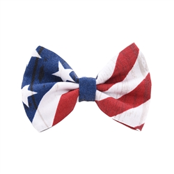American Flag Bow Tie from Unikue Kreations